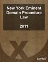New York Eminent Domain Procedure Law 2011