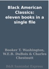 Black American Classics Eleven Books In A Single File