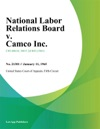 National Labor Relations Board V Camco Inc