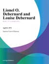 Lionel O Debernard And Louise Debernard