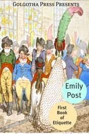 The First Book of Etiquette
