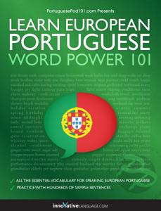 Learn European Portuguese - Word Power 101 ebook
