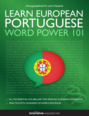 Learn European Portuguese - Word Power 101 - Innovative Language Learning, LLC book