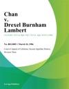 Chan V Drexel Burnham Lambert