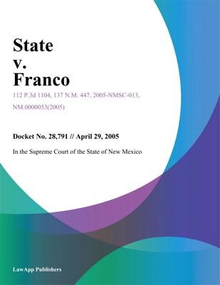 State v. Franco