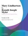 Mary Lindhartsen V Ronald Joseph Myler