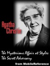 Agatha Christie 2 Novels The Mysterious Affair At Styles And The Secret Adversary