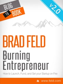 Brad Feld S Burning Entrepreneur How To Launch Fund And Set Your Start Up On Fire