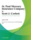 St Paul Mercury Insurance Company V Scott J Corbett