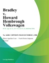 Bradley V Howard Hembrough Volkswagen