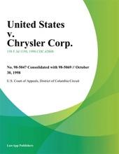United States v. Chrysler Corp.
