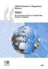 OECD Reviews Of Regulatory Reform Italy 2009