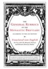 General Rubrics Of The Monastic Breviary