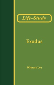 Life-Study of Exodus Book Cover