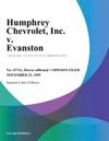 Humphrey Chevrolet