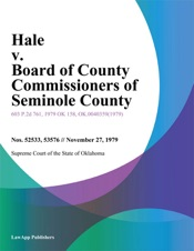 Download Hale v. Board of County Commissioners of Seminole County