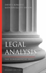 Legal Analysis Second Edition
