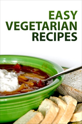 Easy Vegetarian Recipes book cover