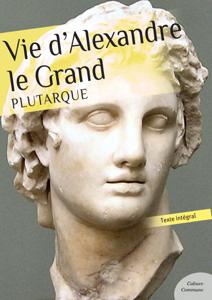 Vie d'Alexandre le Grand La couverture du livre martien