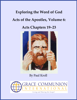 Paul Kroll - Exploring the Word of God Acts of the Apostles Volume 6: Chapters 19–23 artwork