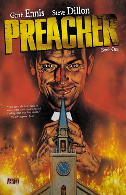 Preacher Book One - Garth Ennis & Steve Dillon book