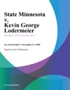State Minnesota V Kevin George Lodermeier