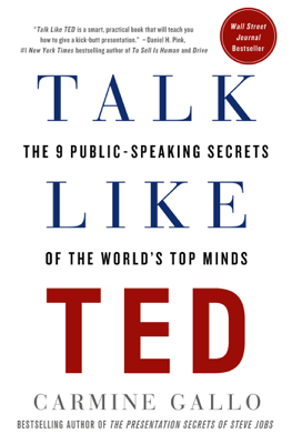 Talk Like TED - Carmine Gallo book