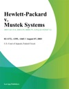 Hewlett-Packard V Mustek Systems