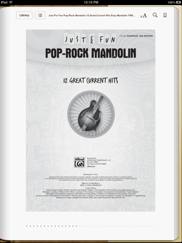 Just for Fun: Pop-Rock Mandolin by Alfred Music on Apple Books