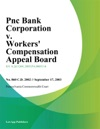 Pnc Bank Corporation V Workers Compensation Appeal Board