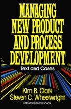 Managing New Product and Process Development