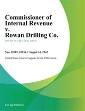 Commissioner Of Internal Revenue V. Rowan Drilling Co.