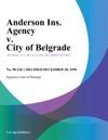 Anderson Ins Agency V City Of Belgrade