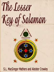 The Lesser Key of Solomon Boekomslag