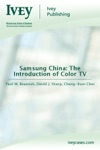 Samsung China The Introduction Of Color TV