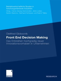 Front End Decision Making