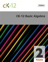 CK-12 Basic Algebra Volume 2