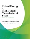 Reliant Energy V Public Utility Commission Of Texas