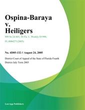 Ospina-Baraya V. Heiligers