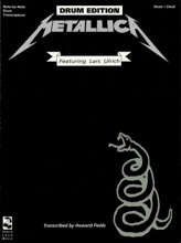 Metallica - Black (Drum Songbook)