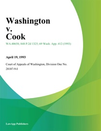 WASHINGTON V. COOK