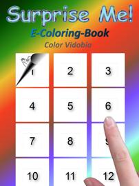 Surprise Me! E-Coloring-Book book