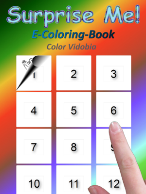 Surprise Me! E-Coloring-Book - Color Vidobia book