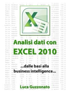 Analisi dati con Excel 2010 Book Cover