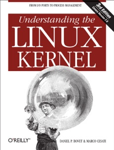 Understanding the Linux Kernel Book Cover