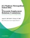 Madison Metropolitan School Dist V Wisconsin Employment Relations Commission