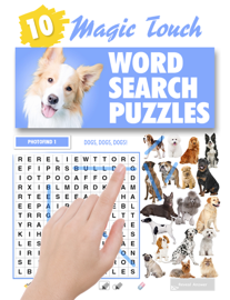 Magic Touch - Dogs Wordsearch Puzzles book