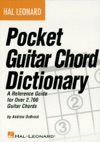 Hal Leonard Pocket Guitar Chord Dictionary Music Instruction