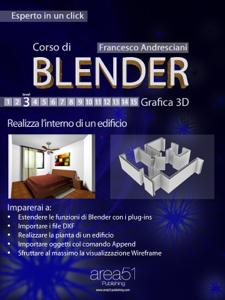Corso di Blender – Livello 4 Copertina del libro
