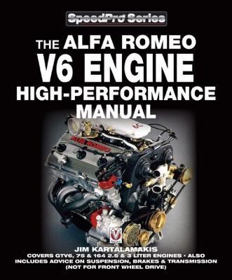 Alfa Romeo V6 Engine High-performance Manual